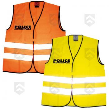 Chasuble Fluo Police Municipale