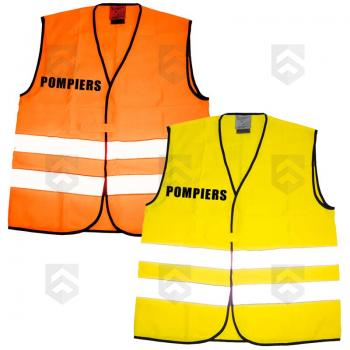 Chasuble Fluo Sapeurs Pompiers