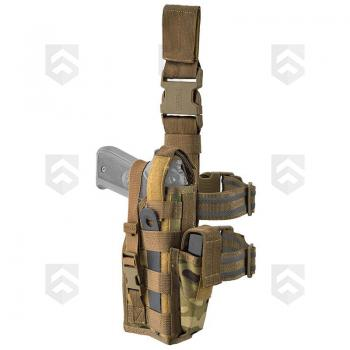 Holster Tactical Defcon 5 Multicam modulable