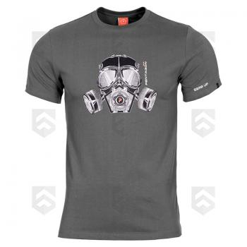 T-shirt manches courtes Pentagon Gas Mask Wolf Grey 0