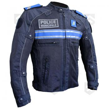 blouson moto coqu police municipale helstons t group army store. Black Bedroom Furniture Sets. Home Design Ideas