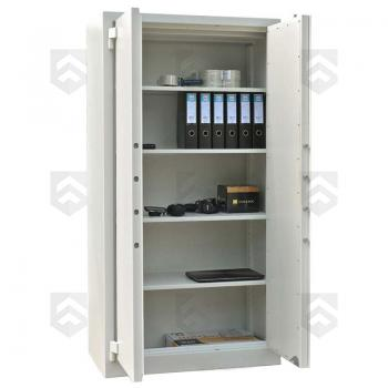 Coffre fort pour documents S1 Mustang Safes Blanc