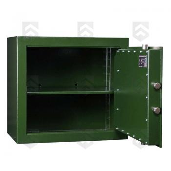 Coffre fort S1 armes de poing/munitions Mustang Safes Vert grand