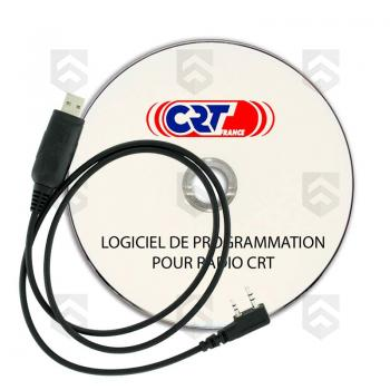 Cable USB et CD de programmation CRT®