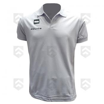 Polo Police Nationale Manches Courtes Respirant Homme 0