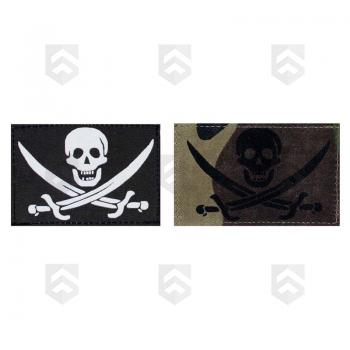 Patch Velcro Bannière Pirate