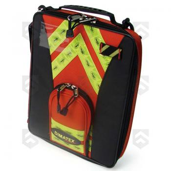 Mallette porte-documents SENTINEL Dimatex® Rouge