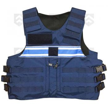 Housse tactique gpb police municipale bleu group army store for Housse gilet pare balle gk