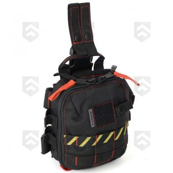Trousse tactique individuelle amovible BAGRAM II Dimatex Black Line