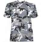 T-shirt Militaire camouflage Urban