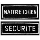 Ecusson rectangulaire SECURITE